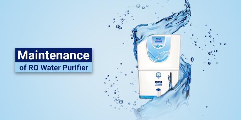 Maintenance of RO Water Purifiers