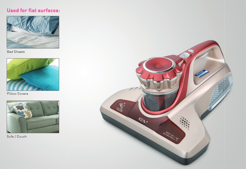 KENT Bed & Upholstery Vacuum Cleaner for Bed, Mattresses and Sofas