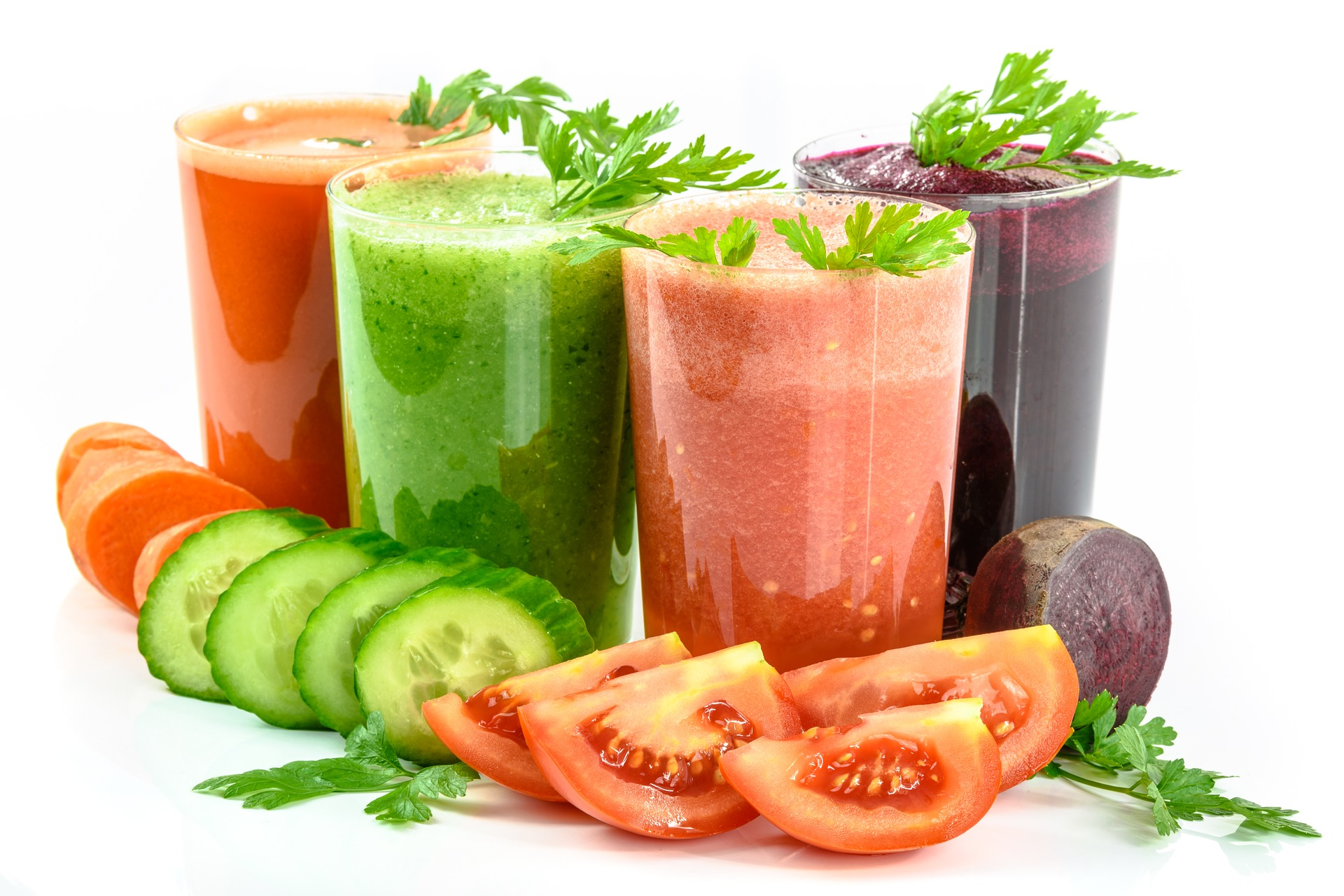 Fruit and Vegetable Juice by using Cold Press Juicer