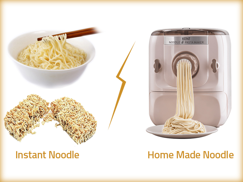 Instant Noodles vs homemade Noodles