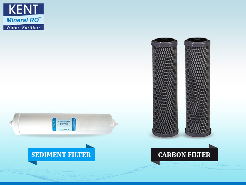Sediment Filter and Carbon Filter