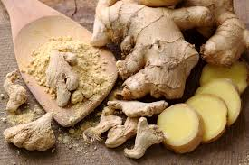 grinding ginger