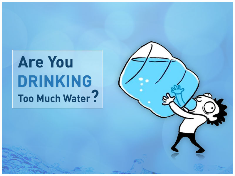 Drinking too Much Water? - Kent Blog