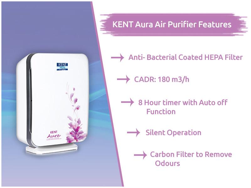 KENT-Aura-Air-Purifier-Features