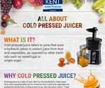 All About Cold Pressed Juicer