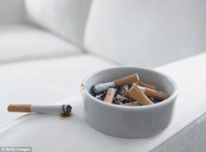 Avoid Smoking Indoors