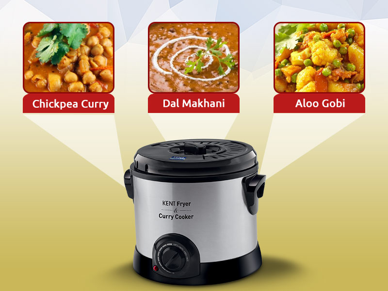 Tasty Dishes that you can prepare using KENT Fryer and Curry Cooker