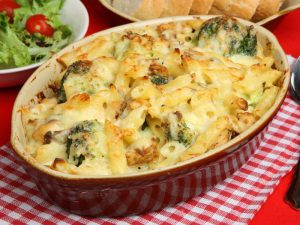 Cheese baked pasta using KENT Noodle and Pasta Maker