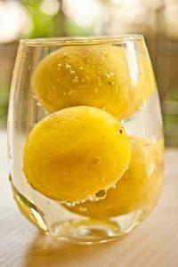 Drink Lemon water in morning