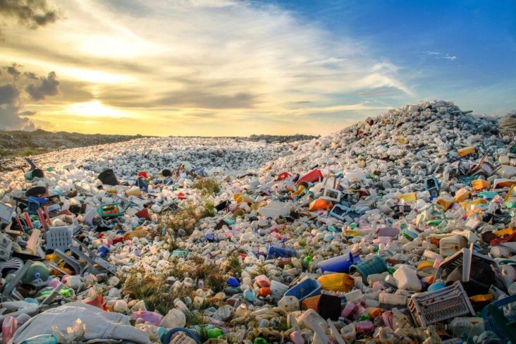 Plastic waste in India