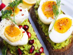 Eat a filling breakfast