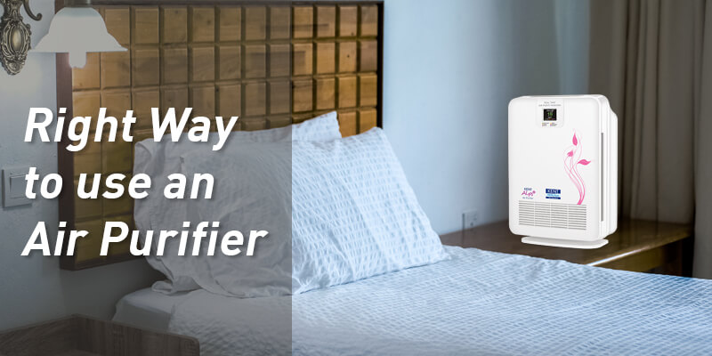 Right Way to use an Air Purifier