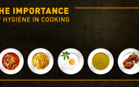 ways of maintaining cooking hygiene in Kitchen