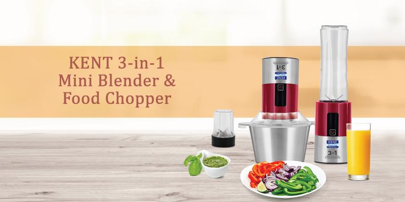 3 in 1 Mini Blender and Food Chopper