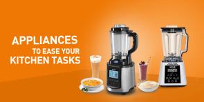 Appliances to Ease Kitchen Tasks