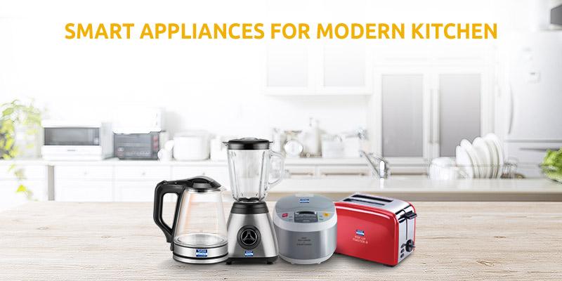 Smart Appliances for a Modern-Kitchen