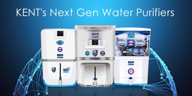 KENT's NextGen Water Purifiers