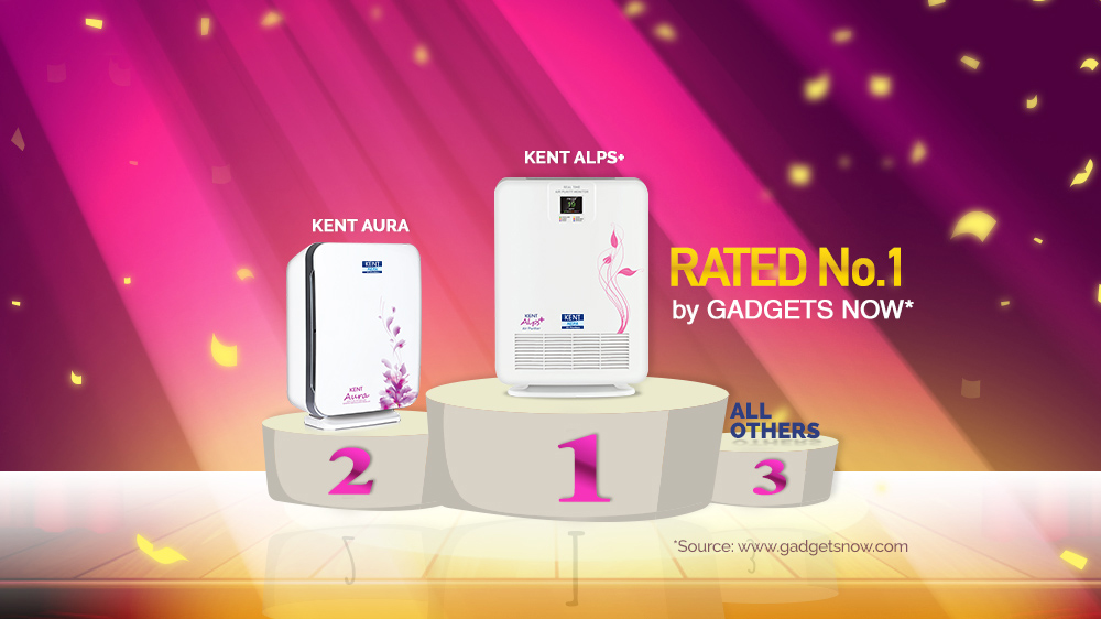 KENT HEPA Air Purifiers - Rated India's Best Air Purifiers