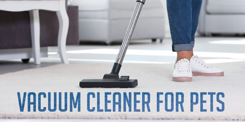 Vacuum cleaner for pets