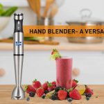 Excellent Reasons to use a hand Blender