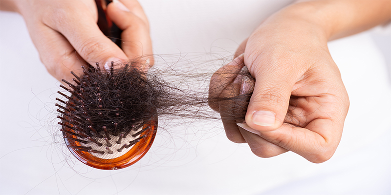 signs of hard water on hair