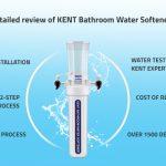 KENT Bathroom Water Softener review