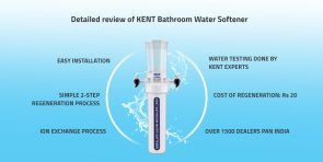 KENT Bathroom Water Softener review