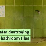 how to remove stains from bathroom tiles