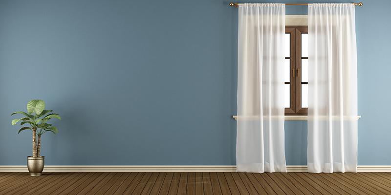 Vacuuming Floor & Curtains