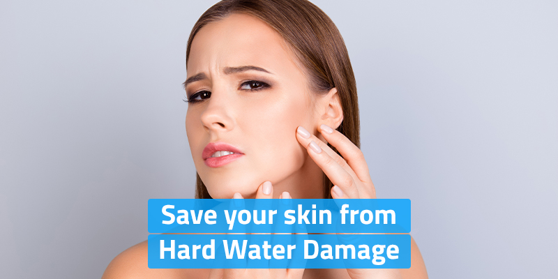 Prevent these Skin Problems by Softening Hard Water with Kent Water Softener