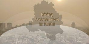 ozone pollution in delhi
