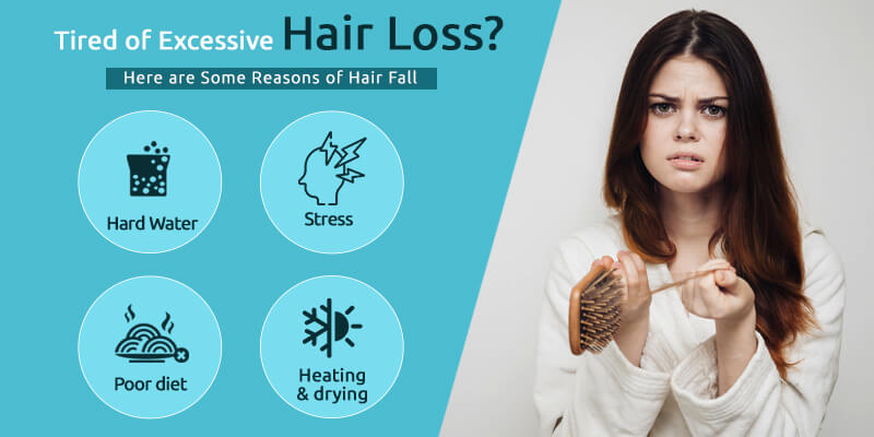 Tired of Hair Loss? Symptoms, Reasons, and How to control hair fall