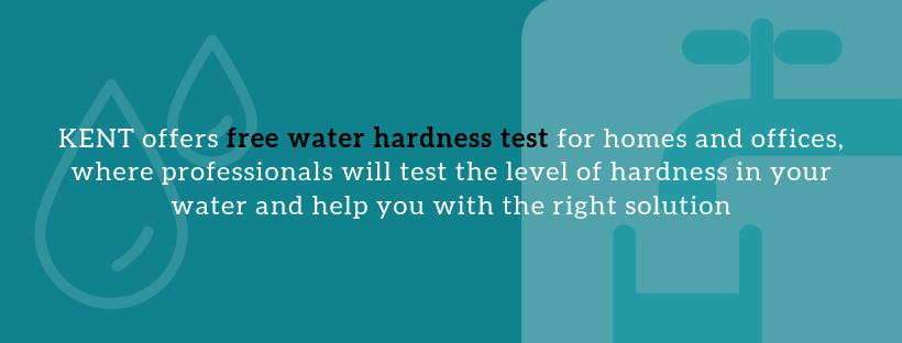 Get Free water hardness test