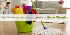 Benefits of home cleaning