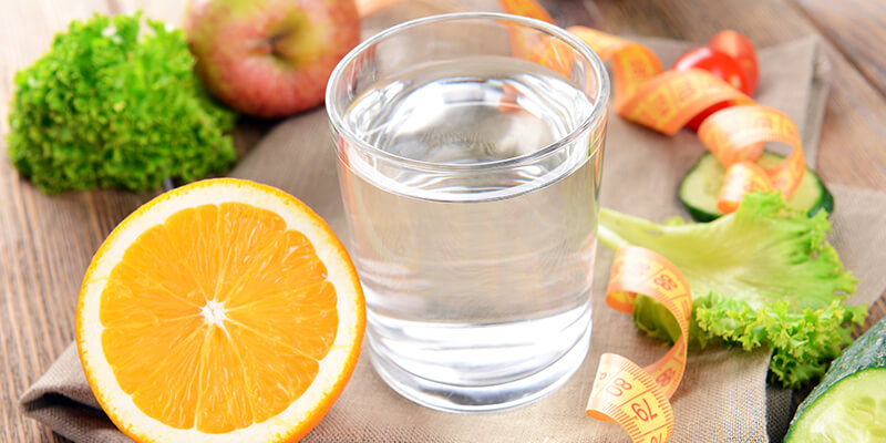 Weight loss and water