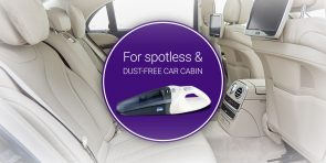 For spotless and dust free car cabin