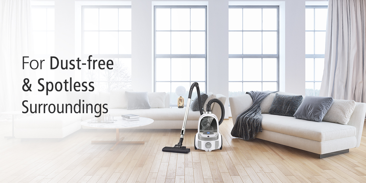 Hepa vacuum cleaner for spotless cleaning