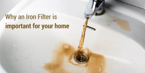 Why an Iron Filter should be used before a Water Softener