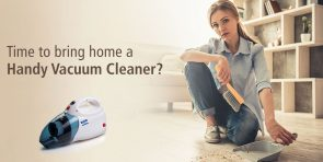 5 reasons why you need to use handy vacuum cleaners