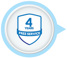 4 Years Free Service