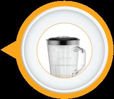 Hygienic Glass Jar