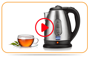 Play KENT Electric Kettle SS