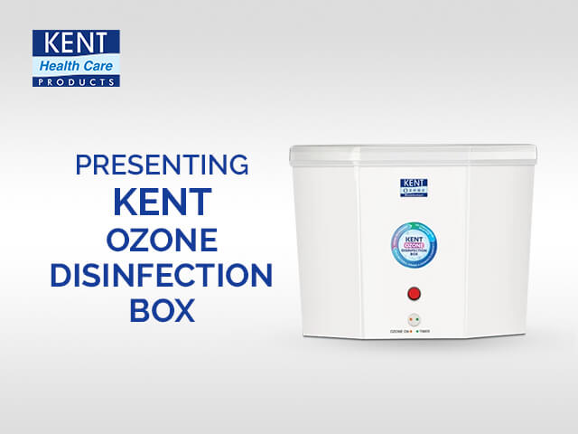 KENT Ozone Disinfection Box for Daily Essentials