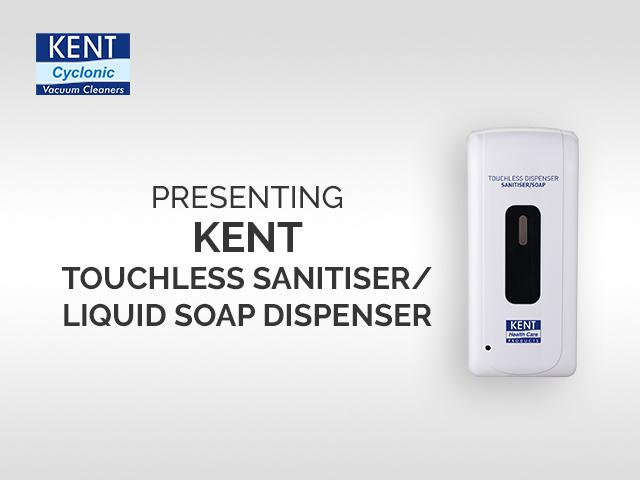 KENT Touchless Sanitiser Dispenser