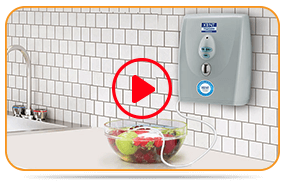 Play Wall Mounted Vegetable & Fruit Cleaner Video