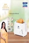 KENT Pop-up  Toaster-W User Manual