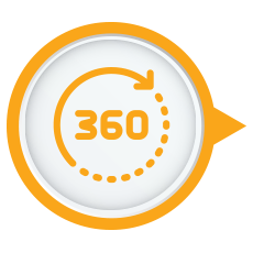 360° Rotating Base