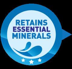 Retains Essential Minerals
