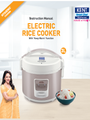KENT Electric Rice Cooker 3 ltr Manual