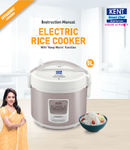 KENT Electric Rice Cooker 5 ltr Manual